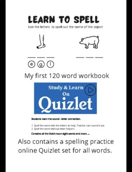 Learn to spell book.